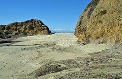 View of Treasure Island and coastline in Laguna Beach, California. Stock Images