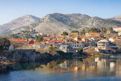 View of Trebinje city. Bosnia and Herzegivina royalty free stock photos