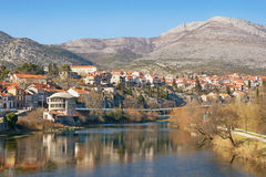 View Trebinje city. Bosnia and Herzegovina stock photos
