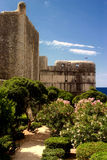 View of the trench walls of Dubrovnik Royalty Free Stock Images