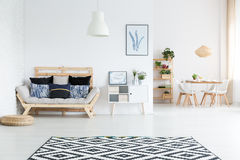 View of living room Royalty Free Stock Photo