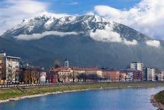 View of Trento, Italy Royalty Free Stock Photos
