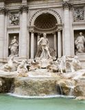Trevi Fountain rome Italy Stock Photography
