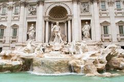 Trevi Fountain rome Italy Royalty Free Stock Photos