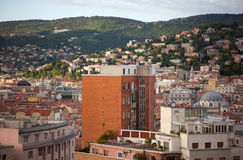View of Trieste roofs Stock Photos