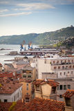 View of Trieste roofs Royalty Free Stock Images