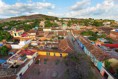 View of Trinidad, Cuba from up Stock Photography