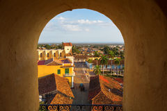 View of Trinidad, Cuba from up Stock Photos