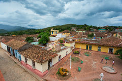 View of Trinidad, Cuba from up Stock Image