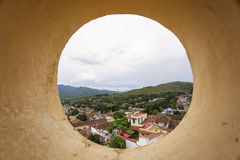View of Trinidad, Cuba from up Royalty Free Stock Image