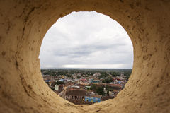 View of Trinidad, Cuba from up Royalty Free Stock Photo