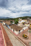View of Trinidad, Cuba from up Stock Images