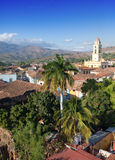View of Trinidad with Lucha Contra Bandidos, Cuba. Royalty Free Stock Image