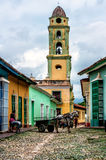 View of Trinidad street in Cuba stock image
