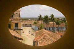 View of Trinidad Trinidad, Cuba stock photography