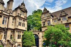 View of Trinity College, Oxford Royalty Free Stock Photos