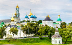 View of the Trinity Lavra of St. Sergius - Sergiyev Posad, Russi Royalty Free Stock Images