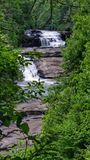 Dupont State Forest North Carolina Waterfalls stock images