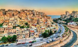 View of Tripoli, the second-largest city in Lebanon. Cityscape of Tripoli, the largest city in northern Lebanon stock image