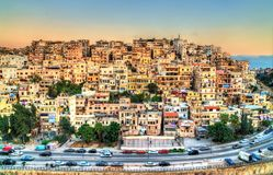 View of Tripoli, the second-largest city in Lebanon. Cityscape of Tripoli, the largest city in northern Lebanon royalty free stock image