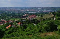 View on Troja chateau in Prague in Czech republic Royalty Free Stock Images