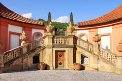 View on the Troja Chateau in Prague Royalty Free Stock Photo