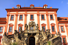 View on the Troja Chateau in Prague Stock Image