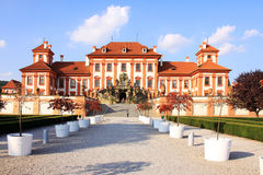 View on the Troja Chateau in Prague Stock Photography