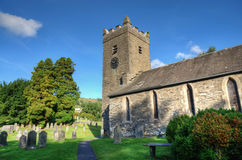 View of Troutbeck Church Stock Photos