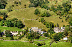 View of Troutbeck Village Royalty Free Stock Image