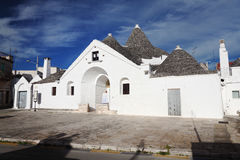View of trullo sovrano Royalty Free Stock Photo