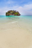 View of tub island in the andaman sea Krabi, Thaiand. Stock Images