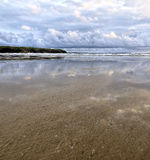 View of Tullan Strand , Bundoran Stock Images