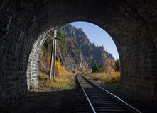 View from the tunnel Stock Image