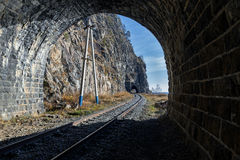 View from the tunnel Royalty Free Stock Photography