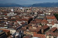 A view of Turin Stock Photo