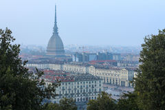 View of Turin town square Stock Images