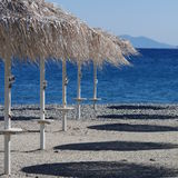 View of Turkish Mainland from Kos Greece Stock Photo