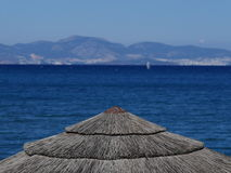 View of Turkish Mainland from Kos Greece Royalty Free Stock Image
