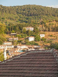 View of the turkish village of Sirince Royalty Free Stock Photography