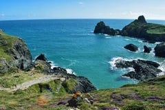 Kynance Cove , Cornwall stock photography