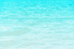 View of turquoise water of sea. Travel and relax concept.  stock image