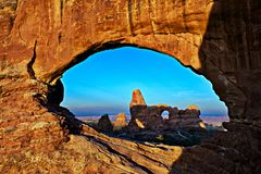 North Window Royalty Free Stock Image