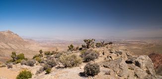 View from Turtlehead Peak in Red Rock Canyon Park Stock Photo