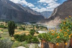 View of Turtuk village - Ladakh, India Royalty Free Stock Image