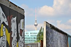 View of the TV tower Stock Images