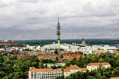 View of the TV tower and roof in Helsinki.Finland. Royalty Free Stock Photos