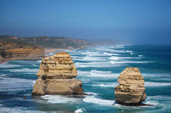 View of the twelve apostles Stock Photography