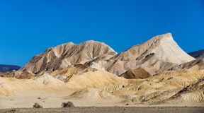 Death Valley National Park badlands Royalty Free Stock Photo