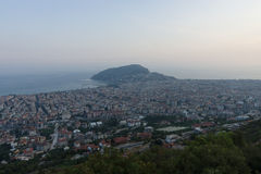 View of twilight Alanya Royalty Free Stock Photo